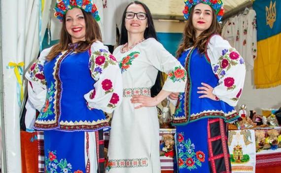 Ukrainischer Infostand1