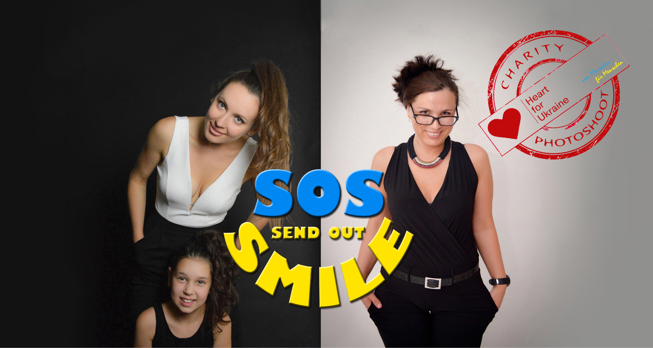 S O S – SEND OUT SMILES // Charity Photoshooting